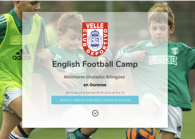 English Football Camp en Ourense – CD VELLE